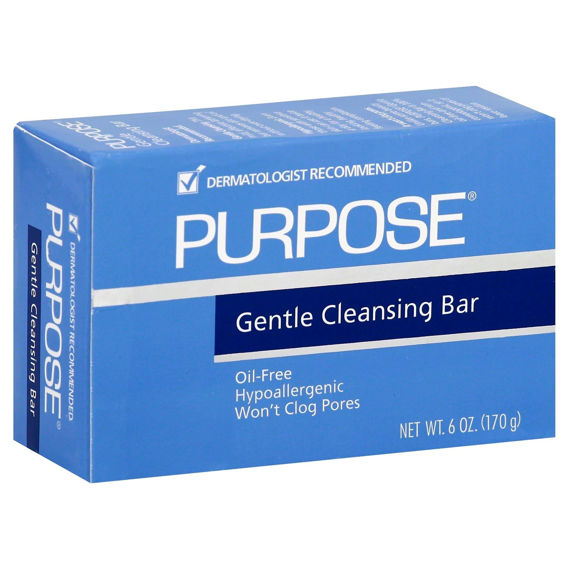 Johnson Purpose Gentle Cleansing Bar Soap - 6oz