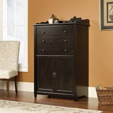 Sauder Edge Water Writing Desk by Edge Water Smartcenter Secretary 413092 Sauder For Black Secretary