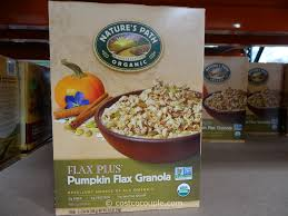 Pumpkin Flaxseed Granola Nutrition by Mediterranean Snacks Hummuz Crackers