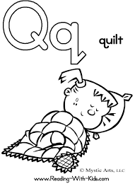 Fancy Q Coloring Pages Letter Worksheets And JPG