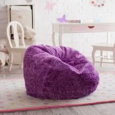 Ace Casual Furniture Medium Chenille Lounger Bean Bag Chair