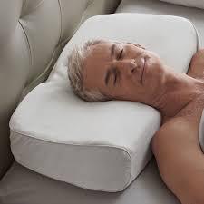 Brookstone BioSense Memory Foam Anti Snore Pillow