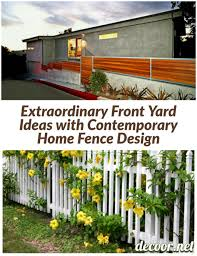 100 Contemporary Home Ideas 8 Extraordinary Front Yard With