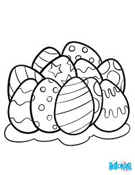 Easter Egg Hunt Pictures Color Free Printable Coloring Pages For Adults Eggs Page Blank Full