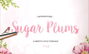 Sugar Plums Is A New Hand Made Font Available For Both Personal And Commercial Use Download Script Anything Everything
