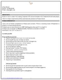 resume for accountant free professional curriculum vitae resume template for all