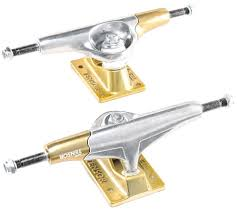 Tensor Aluminium Primo Skateboard Trucks - Raw/Gold - 5.25 ... 180mm Seismic Aeon Hollow Axle 45 Blacksilver Longboard Skateboard Caliber Standard Street Truck Set Raw 9 The Widest Skateboard Trucks Ever Loose Vs Tight Vs Ep 1 Youtube Mindless 150 Trucks Raw Silver 85 Wide Pair Special Price Bennett Vector Single All Sizes Stoked Truckdomeus How To Tighten 8 Steps With Amazoncom Paris V2 50 Of Venom Loboarding Tips Tight Should Your Trucks Be