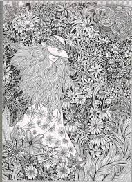 Inspirational Coloring Pages From Secret Garden Enchanted Forest And Other Books For Grown Ups Colouring Adult Detailed Advanced