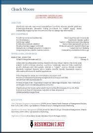 Functional Resume Template 2017 Word