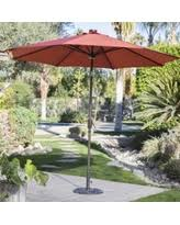 Solar Lighted Patio Umbrella by Exclusive Patio Umbrella With Solar Lights Deals