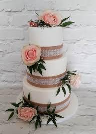 Rustic Wedding Cake By Baked Lisa