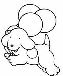 Dalmation Dog Coloring Pages For Kids
