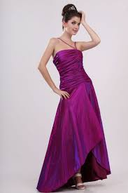 beautiful purple evening gown formal dress with a unique one for