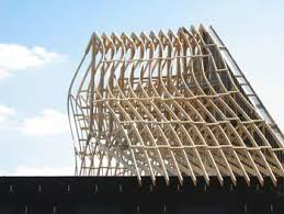 horizontal bridging in pre engineered wood trusses residential