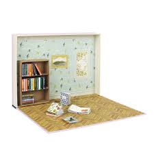 Dollhouse Miniature Diy Kit Happy Time Room With Cover Sale