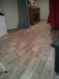 crappy layout and grout color marazzi hardwood floor