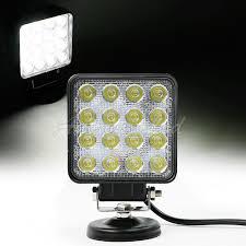 100 Led Work Lights For Trucks 45 48W LED Off Road Light Flood Square White Lamp Jeep