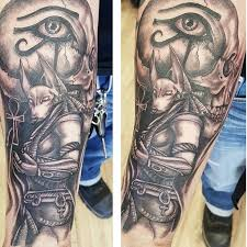 New Egyptian Sleeve Tattoo Designs 62 With Additional Design Tattoos