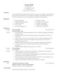 Fast Food Manager Resume Sample Samples Examples