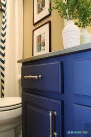 bathrooms design navy blue bathroom vanity cabinet decoration