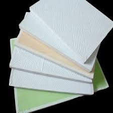 Vinyl Covered Sheetrock Ceiling Tiles by China Competitive Pvc Vinyl Laminated Gypsum Ceiling Tile 595