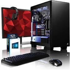 pack ordinateur de bureau vibox armageddon rs580 580 pack pc gamer intel 4 radeon rx