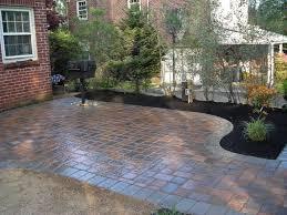 envirotile small patio paver ideas and design rubber pavers