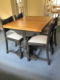 1930s Dining Room Furniture Elegant Oak Draw Leaf Table And Four Chairs In