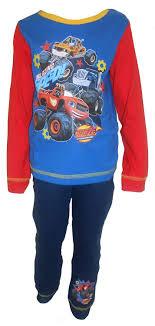 100 Monster Truck Pajamas Amazoncom Blaze And The Machines Little Boys Clothing