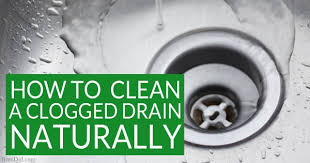 Home Remedies To Unclog A Kitchen Sink by How To Naturally Clean A Clogged Drain The Definitive Guide