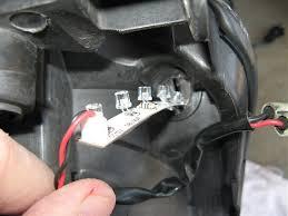 06 08 small leds projects parking 3rd brake light subaru