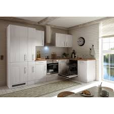 respekta premium winkelküche 310 x 172 cm landhaus lärche weiß nachbildung