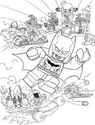 16 Lego Batman Movie Coloring Pages