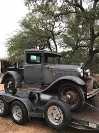 100 Texas Trucks 1931 Ford Model A Truck At The Rusty Ranch In Blanco