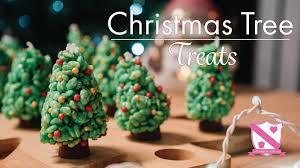 Christmas Tree Marshmallow Treats