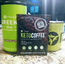 Keto Coffee Combined With Chocolate Greens Is The PERECT Way To Support Your Weight Loss Goals While Supplementing Body Key Nutrients