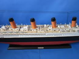 buy rms britannic limited 50 inch w led lights model cruise ship