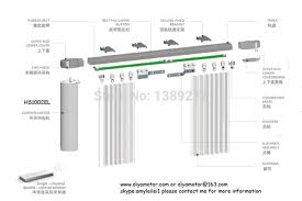 Motorized Curtain Track Singapore by Somfy Motorised Curtains Integralbook Com