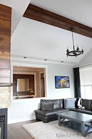 Paint Colors Living Room Vaulted Ceiling by Living Room Design With Vaulted Ceiling Faux Wood Beam
