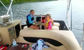Aqua Patio Pontoon Bimini Top by 2015 Aqua Patio Pontoon Boat Rental In Downtown Sandpoint Getmy