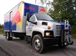 100 Commercial Truck Routes Red Bull GMC Route Delivery Truck Equipped With HTS Systems
