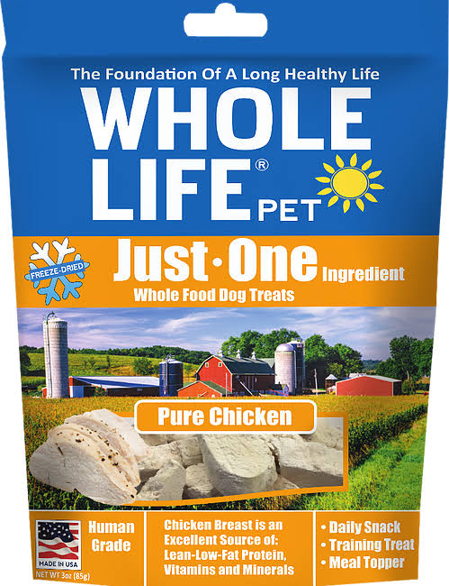 Whole Life Freeze Dried Cat Treats - Chicken Breast, 1oz