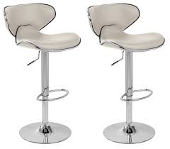 Black Leather Bar Stools by Kitchen Round White Modern Leather Bar Stool Black And White Bar
