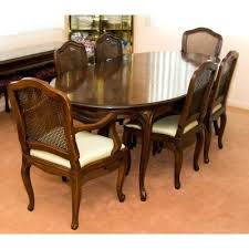 Vintage Dining Furniture Auction Antique For Cherry Queen Anne Style Table And Chairs