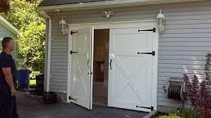 Decorating Outswing Garage Doors Outswing Garage Doors