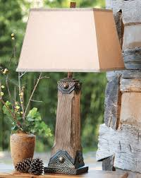 Rustic Table Lamps Country Style