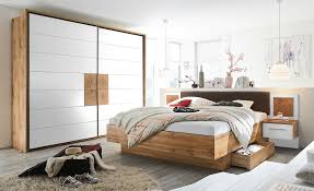 uno schlafzimmer 4 teilig mit bettkasten cus holzfarben komplett schlafzimmer möbel kraft