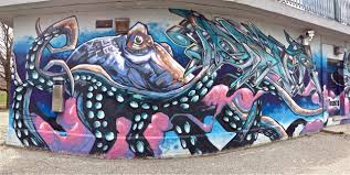 Big Ang Mural Brooklyn by Freeform Flow Murals By Matt Moore Illustration Pinterest