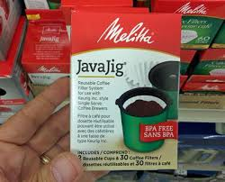 The Melitta JavaJig Reusable Filter System For Keurig