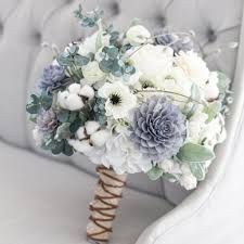 Our Grey Navy And Cream Bouquet Is A Rustic Beauty This Stunning Has Great Combination Of Flowers That Work Seamlessly With Each Other